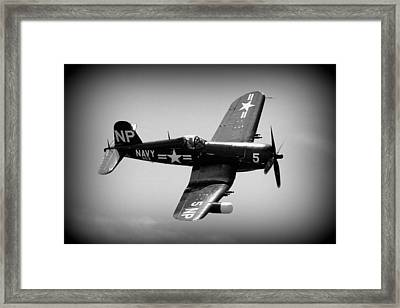 Corsair Flight Framed Print