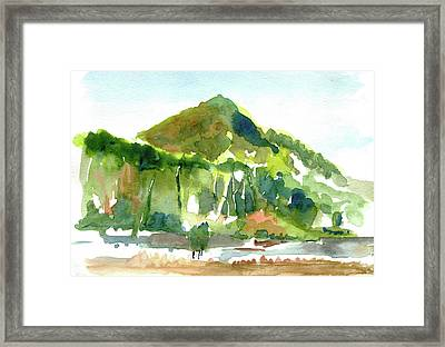 Corte Madera Creek Framed Print
