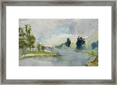 Corte Madera Creek1 Framed Print