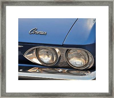 Corvair Framed Print