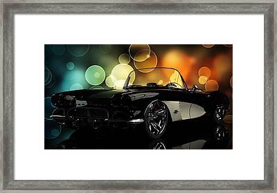 Corvette 1961 Framed Print