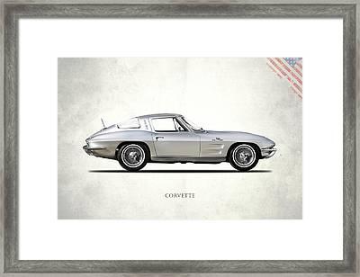 Corvette 327 Framed Print by Mark Rogan