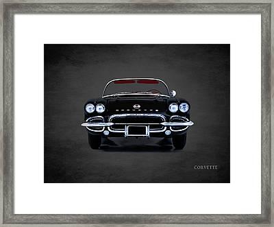 Corvette 62 Framed Print by Mark Rogan