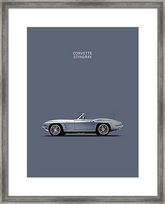 Corvette 65 Framed Print by Mark Rogan