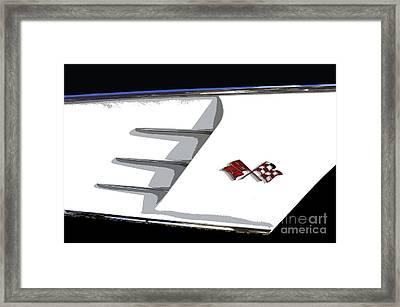 Corvette Colors Framed Print by David Lee Thompson