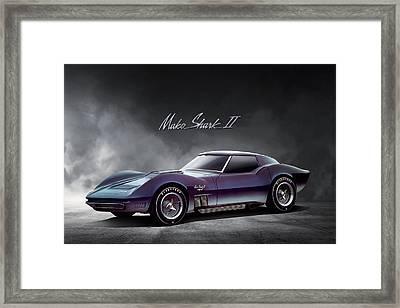 Corvette Concept Framed Print