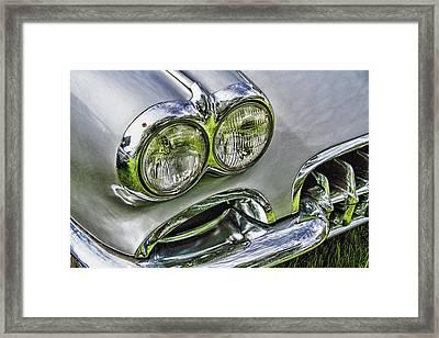 Corvette Front End Framed Print