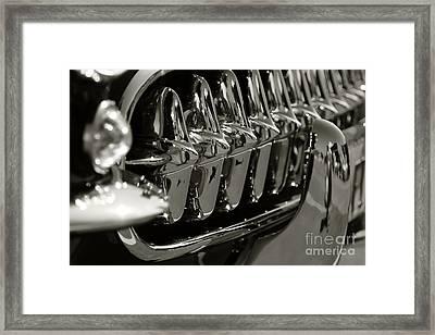 Corvette Grill Framed Print