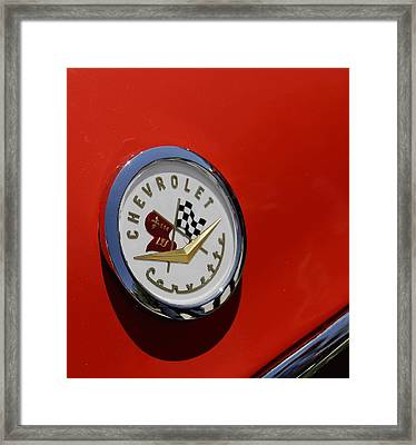 Corvette Framed Print