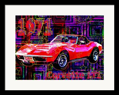 Arango Digital Art Framed Prints