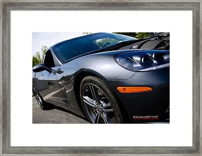 Corvette Racing Framed Print