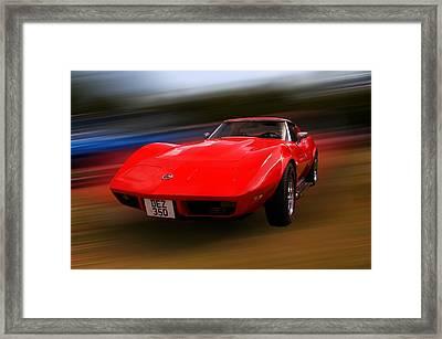 Corvette Stingray Framed Print