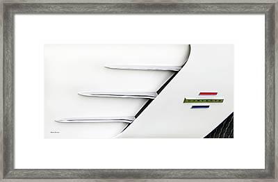 Corvette Vents Framed Print