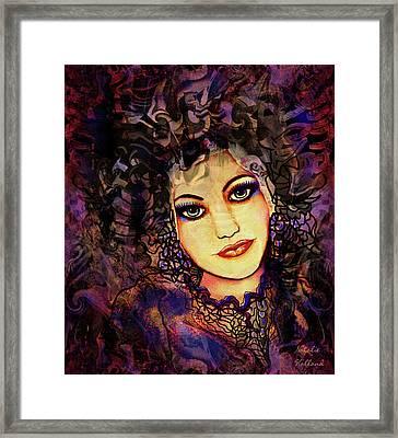 Cosette Framed Print