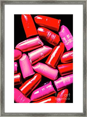 Cosmetic Abstract Art Framed Print by Jorgo Photography - Wall Art Gallery