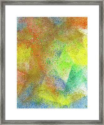 Cosmic Amon Ray #551 Framed Print by Rainbow Artist Orlando L aka Kevin Orlando Lau