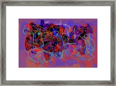 Cosmic Beast Framed Print
