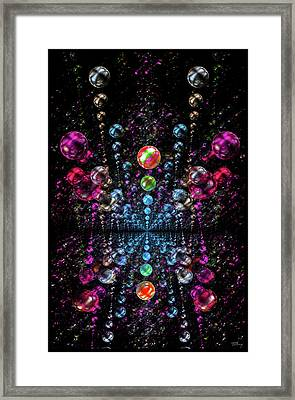 Cosmic Bubbles Framed Print
