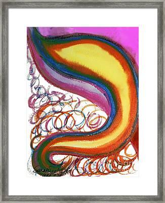 Cosmic Caf Framed Print