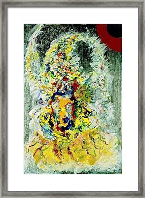 Cosmic Framed Print by Chitra Ramanathan