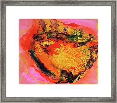 Cosmic Cloud Framed Print by Madeleine Arnett