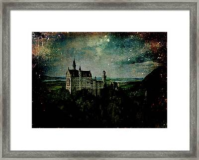 Cosmic Collision Framed Print by Sarah Vernon