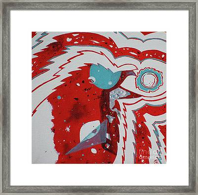 Cosmic Corvid Framed Print