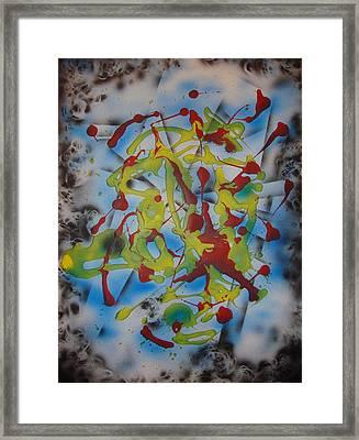 Cosmic Dance Framed Print
