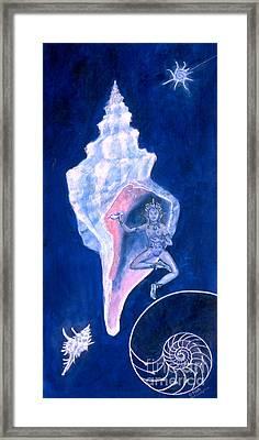 Cosmic Dancer Framed Print