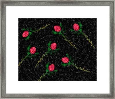 Cosmic Debris Framed Print by John Mueller