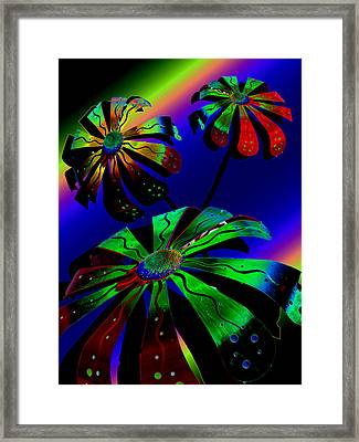 Cosmic Dreams Framed Print by Tony Marquez