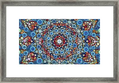 Cosmic Drift Framed Print