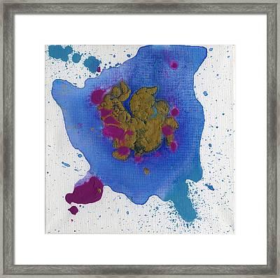 Cosmic Embryo Framed Print by Phil Strang