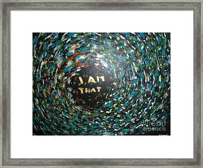 Cosmic Energy Framed Print by Piercarla Garusi