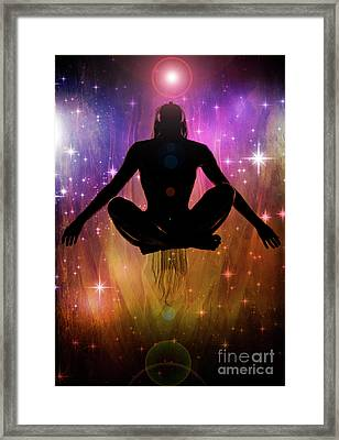Framed Print featuring the photograph Cosmic Enlightenment... by Nina Stavlund