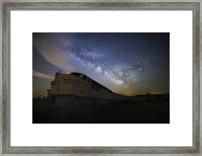 Cosmic Express Framed Print