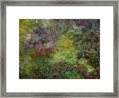 Cosmic Garden Framed Print
