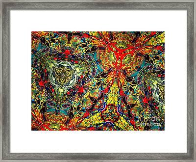 Cosmic Groove Framed Print