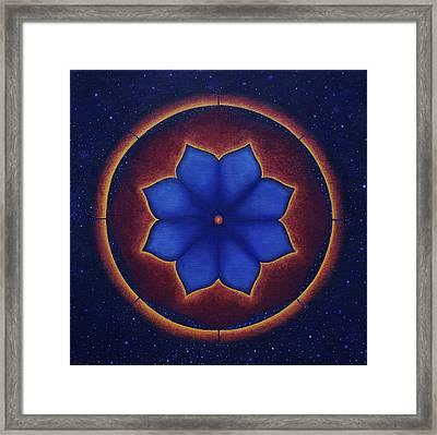 Cosmic Harmony Framed Print