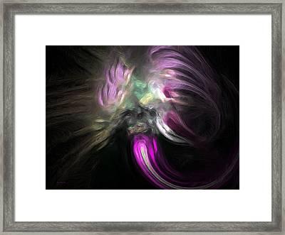 Cosmic Intervention Framed Print by Wayne Bonney