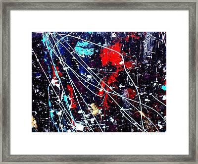 Cosmic Journey Framed Print by Wayne Potrafka
