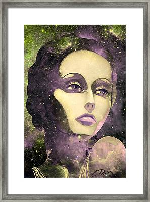 Cosmic Lady Pink Framed Print