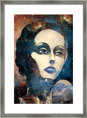 Cosmic Lady Sienna  Framed Print