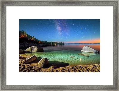 Cosmic Light Framed Print by Steve Baranek