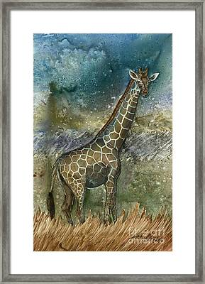 Cosmic Longing Framed Print