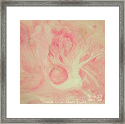 Cosmic Love Framed Print by Sacred  Muse