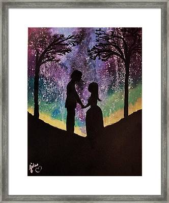 Cosmic Love  Framed Print