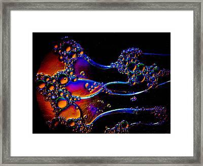 Cosmic Manowar Framed Print