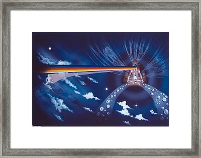 Cosmic Mediator Framed Print