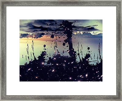 Cosmic Resoance No 3 Framed Print by Robert G Kernodle